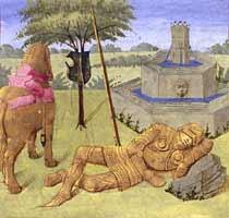 yvain ou le chevalier au lion la rencontre du lion