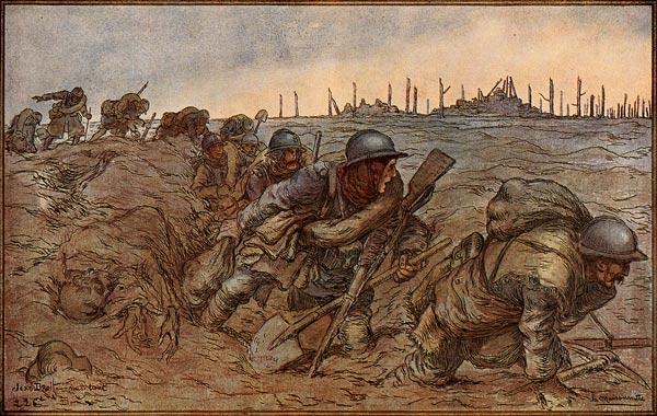 illustration 1ere guerre mondiale