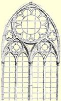 Le carnet de villard de honnecourt glossaire for Fenetre en ogive